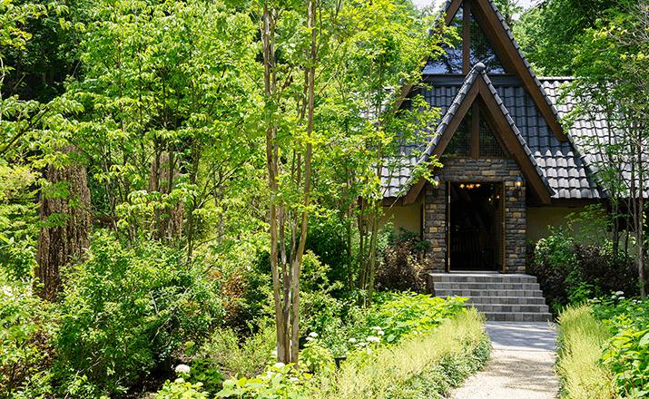 ガゼボ・教会エリア